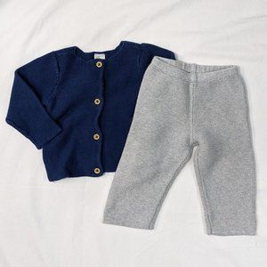 2pc Toddler Knitwear H&M, Janie & Jack 12-18mths